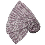 M&K Collection Scarve Linked Ovals purple