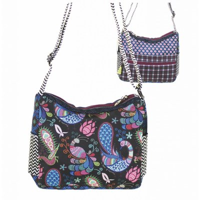 Happiness Cross-Shoulderbag  Belize Petrol