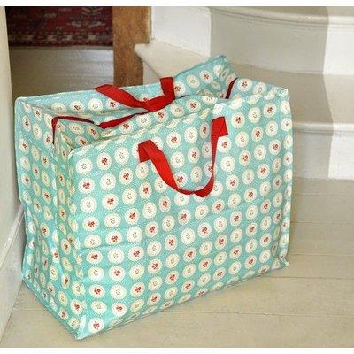 Rex London Jumbo bag / Storage bag Blue Doily