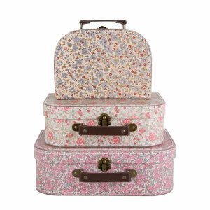 Sass & Belle Cases Vintage Floral Set of 3