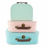 Sass & Belle Cases Pastel Retro Set of 3