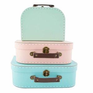 Sass & Belle Cases Pastel Retro Set of 3