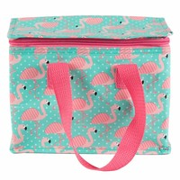 Sass & Belle Lunch Bag Tropical Flamingo
