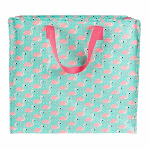 Sass & Belle Riesentasche medium Tropical Flamingo