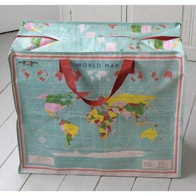Rex London Riesentasche World Map