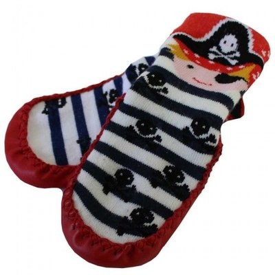 Powell Craft Moccasin Slipper Pirate 6-12 months