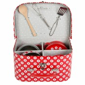 Sass & Belle Kitchen Cooking Box Red Daisies