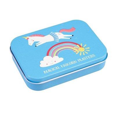 Rex London Plasters in tin Unicorn