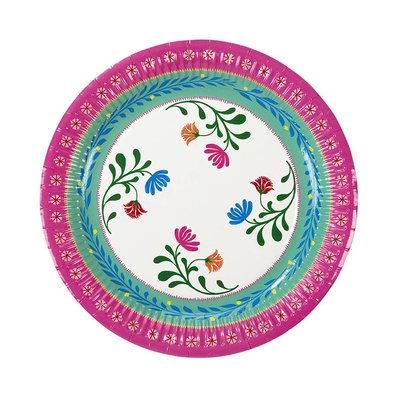 Talking Tables Pappteller Boho Floral medium