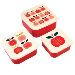 Rex London Snack Boxes 3-er Vintage Apple