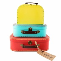 Sass & Belle Cases Bright Retro Set of 3