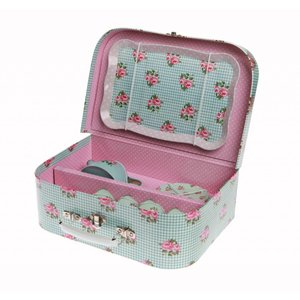 Sass & Belle Picnic Box Set Roses blue