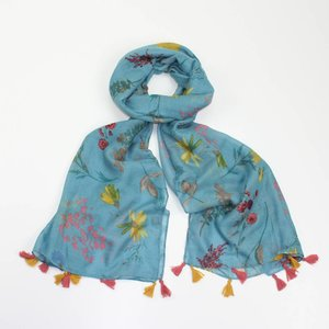 M&K Collection Schal Olivia turquoise