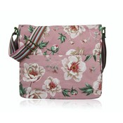 Huiskamergeluk Handbag Cross-over Canvas Wild Rose dusty pink