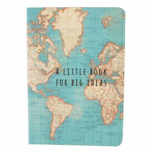Sass & Belle Pocket Notebook Vintage Map