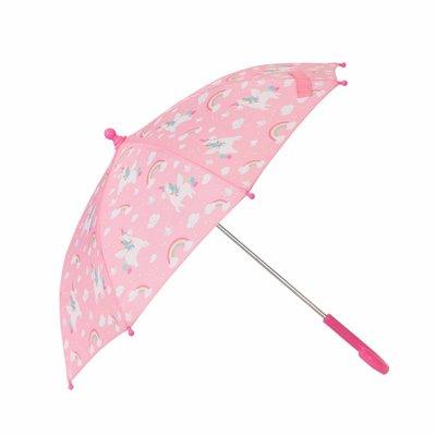 Sass & Belle Childrens umbrella Rainbow Unicorn