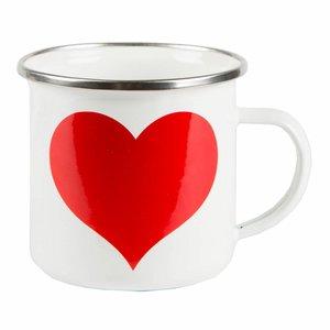 Sass & Belle Mug Enamel Heart