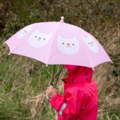 Rex London Kinder-Regenschirm Cat