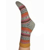 Joya Socks Woolmix Shetland light grey mix