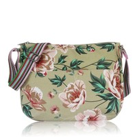 Huiskamergeluk Handtasche Carry-All Bag Wild Rose beige