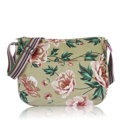 Huiskamergeluk Handtasche Carry-All Bag Wild Rose beige