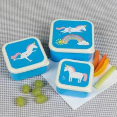 Rex London Snack Boxes 3-er Set Magical Unicorn