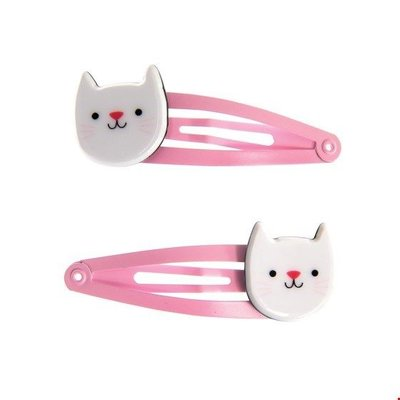 Rex London Hair clips Cat