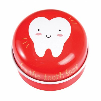 Rex London Tin Tooth Fairy red