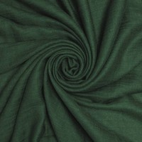 M&K Collection Scarf Cotton / Wool dark green
