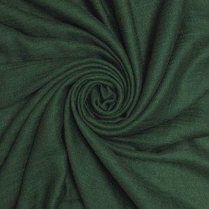 Pure & Cozy Scarf Cotton / Wool dark green