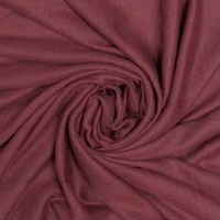 M&K Collection Schal Grain Cotton/Wool burgundy