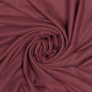 M&K Collection Scarf Grain Cotton / Wool burgundy