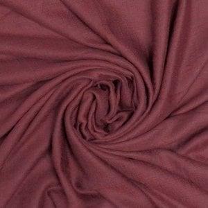 M&K Collection Schal Grain Cotton/Wool burgundy