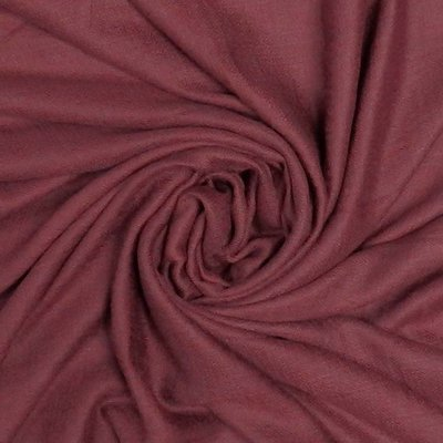 M&K Collection Scarf Grain Cotton / Wool burgundy