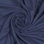 Pure & Cozy Schal Cotton/Wool Powder  navy