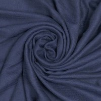 M&K Collection Scarf Grain Cotton / Wool  navy