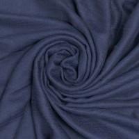 M&K Collection Schal Grain Cotton/Wool navy