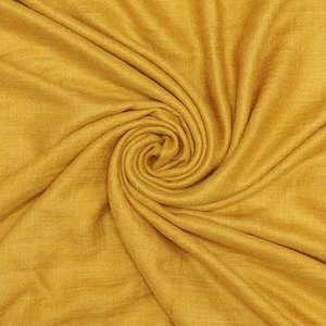 Pure & Cozy Schal Grain Cotton/Wool mustard