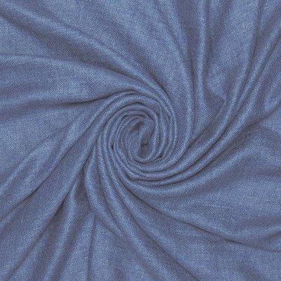 Pure & Cozy Scarf Grain Cotton / Wool denim