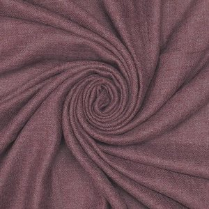 M&K Collection Scarf Grain Cotton / Wool plum