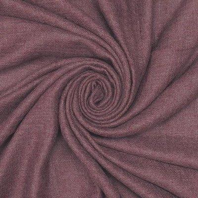 Pure & Cozy Scarf Grain Cotton / Wool plum