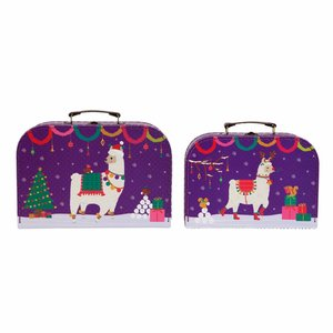 Sass & Belle Köfferchen La La Llama Set of 2