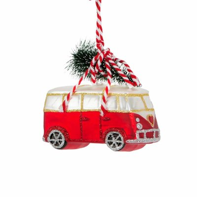 Sass & Belle Christmas Decoration Camper Van