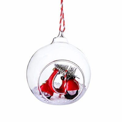 Sass & Belle Weihnachtskugel Scooter