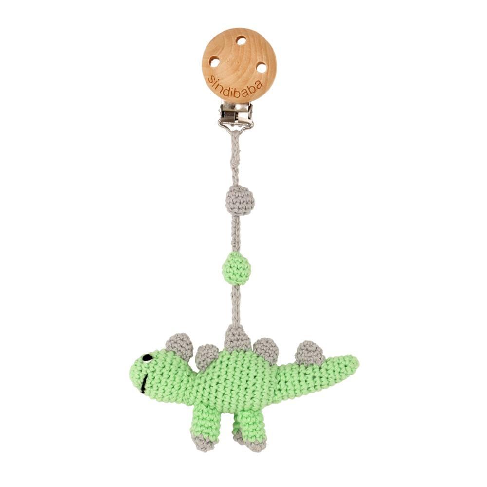 Pacifier Clip, Crochet Elephant - SpearmintLOVE | 1000x1000