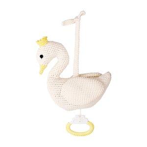 Sindibaba Spieluhr Swan white