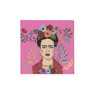Talking Tables Papierservietten Frida Kahlo