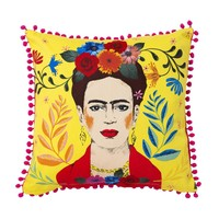 Talking Tables Kissen Frida Kahlo yellow