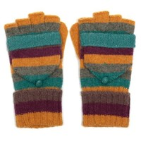M&K Collection Gloves Stripes mustard