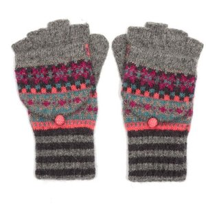 M&K Collection Handschuhe Shetland grey